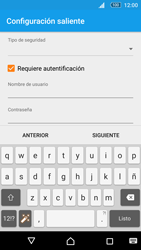 Sony Xperia M5 (E5603) - E-mail - Configurar correo electrónico - Paso 18
