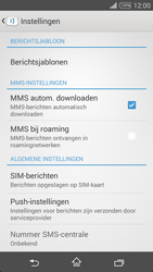 Sony D5103 Xperia T3 - MMS - probleem met ontvangen - Stap 7