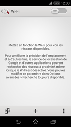 Sony Xperia E3 - Wifi - configuration manuelle - Étape 4