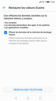 Huawei Mate 9 - Device maintenance - Retour aux réglages usine - Étape 7