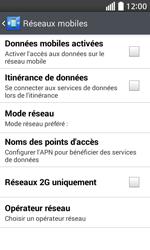 LG L70 - Internet - Activer ou désactiver - Étape 8