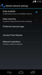 LG D821 Google Nexus 5 - Internet - Manual configuration - Step 7