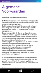 Microsoft Lumia 535 - Applicaties - MyProximus - Stap 11