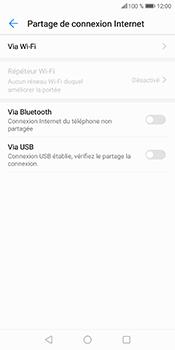 Huawei P Smart - Internet et connexion - Utiliser le mode modem par USB - Étape 8