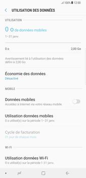Samsung Galaxy S8 Plus - Android Oreo - Internet - Désactiver les données mobiles - Étape 7