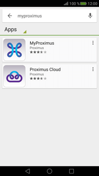 Huawei Mate S - Applicaties - MyProximus - Stap 6
