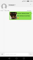 Huawei P9 - Mensajería - Escribir y enviar un mensaje multimedia - Paso 19