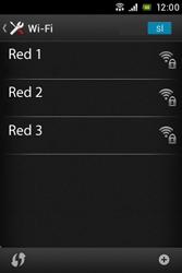 Sony Xperia E - WiFi - Conectarse a una red WiFi - Paso 6