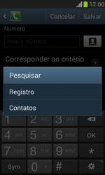Samsung I8190 Galaxy S III Mini - Chamadas - Como bloquear chamadas de um número específico - Etapa 11