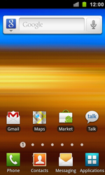 Samsung I9100 Galaxy S II - Internet - Internet browsing - Step 1