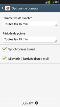 Samsung Galaxy Note 3 - E-mails - Ajouter ou modifier un compte e-mail - Étape 17