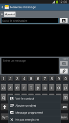 Samsung I9205 Galaxy Mega 6-3 LTE - MMS - Envoi d