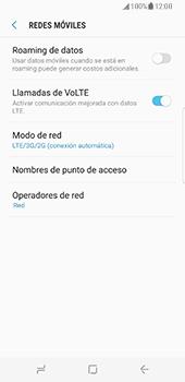 Samsung Galaxy S8 - Red - Seleccionar el tipo de red - Paso 6