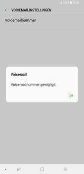 Samsung Galaxy Note9 - Voicemail - handmatig instellen - Stap 12