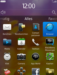 BlackBerry 9810 Torch - Internet - Internetten - Stap 2
