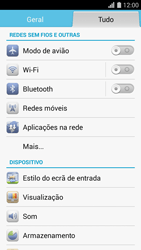 Huawei G620s - Internet no telemóvel - Como ativar 4G -  3