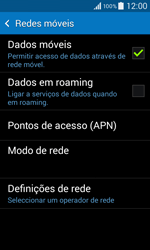 Samsung Galaxy Core II - Internet no telemóvel - Como configurar ligação à internet -  7