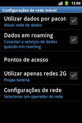 Samsung Galaxy Ace - Internet - Como configurar seu celular para navegar através de Vivo Internet - Etapa 6