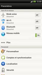 HTC S720e One X - Internet - Utilisation à l