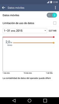LG G4 - Internet - Ver uso de datos - Paso 5