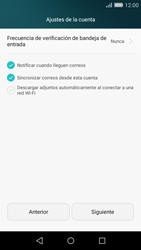 Huawei P8 Lite - E-mail - Configurar Yahoo! - Paso 8