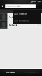 HTC One - Contacten en data - Contacten kopiëren van toestel naar SIM - Stap 7