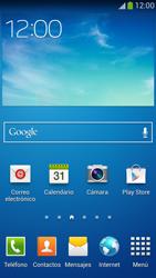 Samsung Galaxy S4 - Internet - Activar o desactivar la conexión de datos - Paso 1