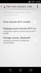 Sony Xpéria E3 - Internet et connexion - Partager votre connexion en Wi-Fi - Étape 6