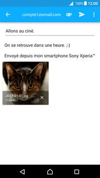 Sony Xperia Z5 Premium - Android Nougat - E-mail - envoyer un e-mail - Étape 15