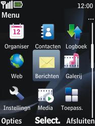 Nokia 2730 classic - E-mail - Hoe te versturen - Stap 3
