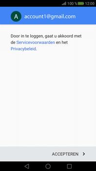 Huawei Mate S - E-mail - handmatig instellen (gmail) - Stap 13