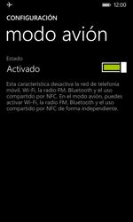 Nokia Lumia 635 - Funciones básicas - Activar o desactivar el modo avión - Paso 6