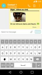 LG X Screen - Mms - Envoi d