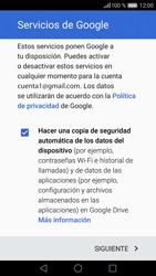 Huawei P9 Lite - E-mail - Configurar Gmail - Paso 14