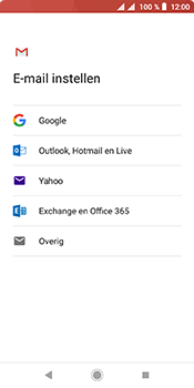 Sony xperia-l3 - E-mail - handmatig instellen (gmail) - Stap 8