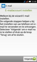 Alcatel OT-4033X Pop C3 - E-mail - e-mail instellen: POP3 - Stap 5