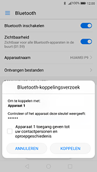 Huawei P9 - Android Nougat - Bluetooth - koppelen met ander apparaat - Stap 8