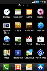 Samsung Galaxy Ace - Internet et connexion - Accéder au réseau Wi-Fi - Étape 3