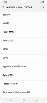 Samsung Galaxy A50 - MMS - configuration manuelle - Étape 15