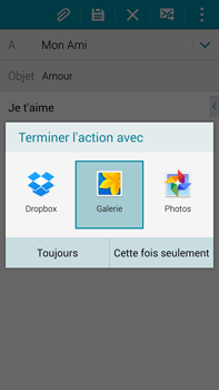 Samsung Galaxy Note 4 - E-mails - Envoyer un e-mail - Étape 13