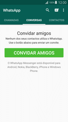 Samsung Galaxy S4 LTE - Aplicações - Como configurar o WhatsApp -  11