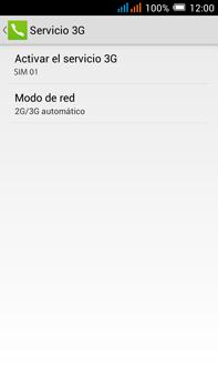 Alcatel Pop C9 - Red - Seleccionar el tipo de red - Paso 7
