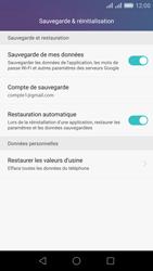 Huawei Honor 5X - Device maintenance - Back up - Étape 8