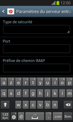 Samsung S7390 Galaxy Trend Lite - E-mail - Configuration manuelle - Étape 9