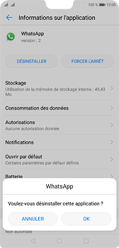Huawei P20 - Applications - Supprimer une application - Étape 7