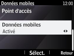 Nokia Asha 210 - Internet - Configuration manuelle - Étape 6