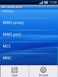 Sony Ericsson Xperia X10 Mini - Internet - Manual configuration - Step 11