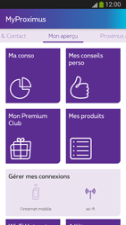 Samsung I9300 Galaxy S III - Applications - MyProximus - Étape 18