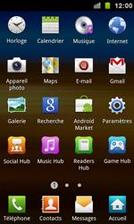 Samsung I9100 Galaxy S II - Wifi - configuration manuelle - Étape 2