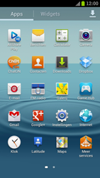 Samsung I9300 Galaxy S III - Wi-Fi - Verbinding maken met Wi-Fi - Stap 3